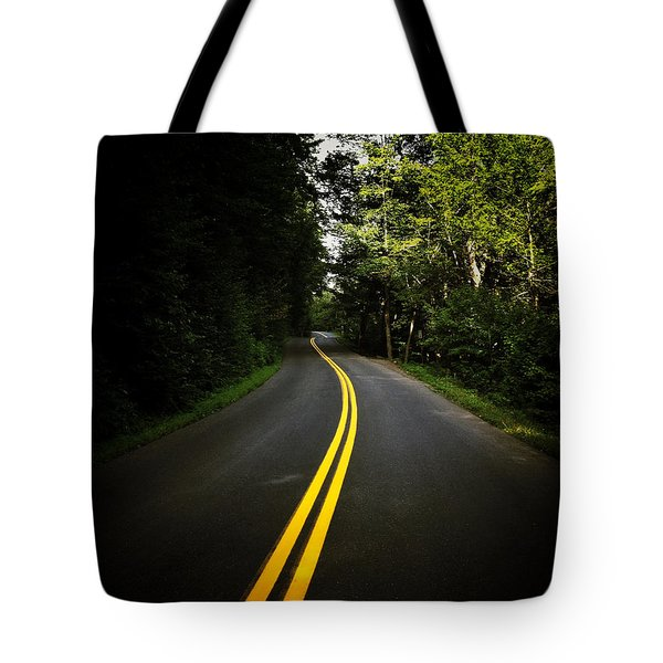 The Long And Winding Road Tote Bag by Natasha Marco