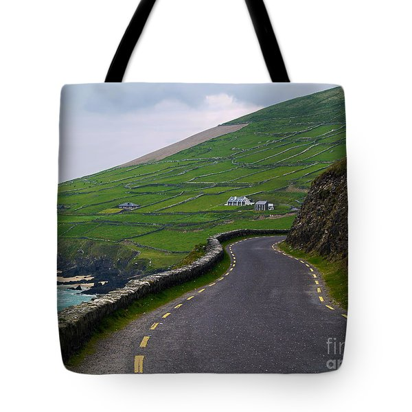 The Long And Winding Road Tote Bag by Patricia Griffin Brett