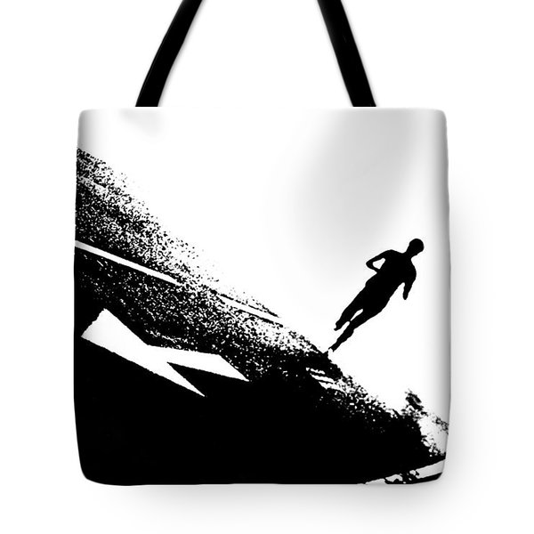 The Long Distance Runner Tote Bag