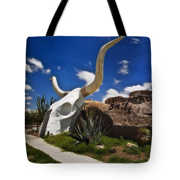 The Long Horn Grill Tote Bag by Gary Warnimont