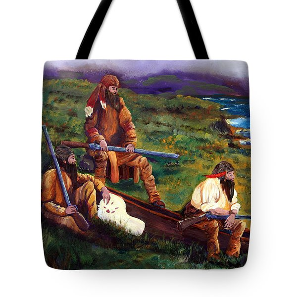 The Long Hunters Tote Bag by Gail Daley