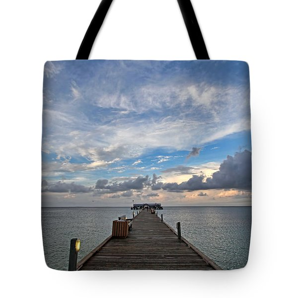 The Long Walk Tote Bag by HH Photography of Florida
