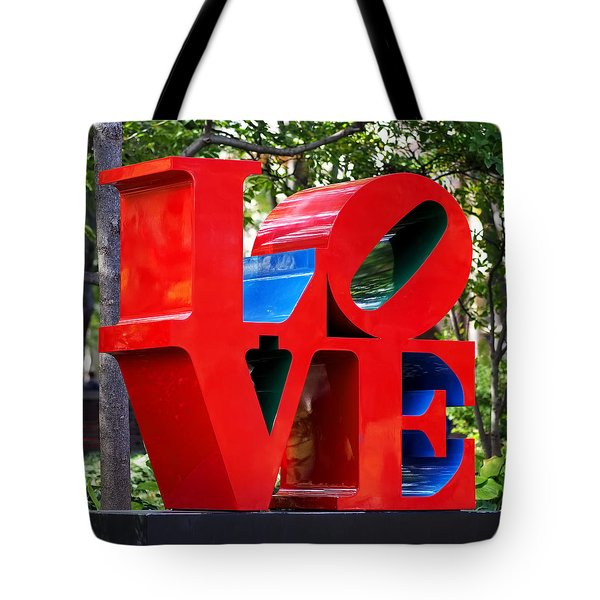 The Look Of Love Tote Bag by Rona Black