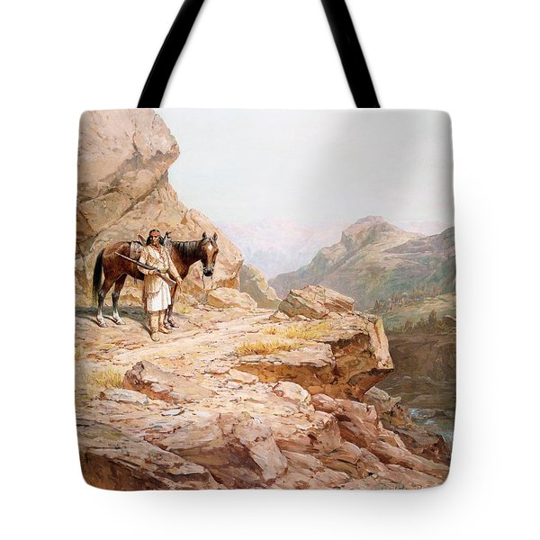 The Look Out Tote Bag by Henry Raschen