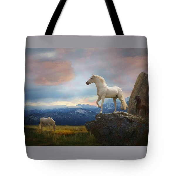 The Look Out Tote Bag by Melinda Hughes-Berland
