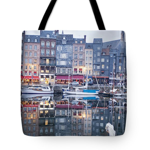 The Looking Glass - Honfleur France Tote Bag