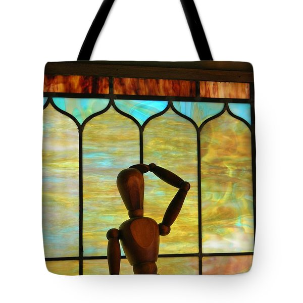 The Lookout Tote Bag by Jean Goodwin Brooks