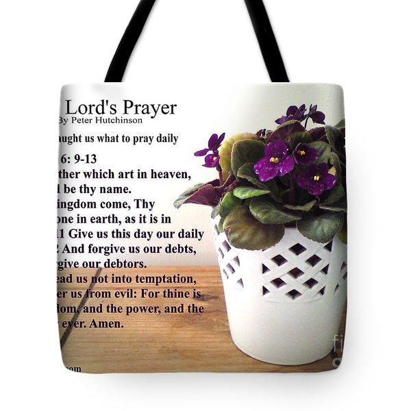 The Lords Prayer Tote Bag