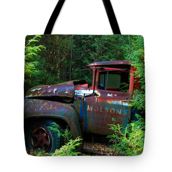 The Lost Delivery Tote Bag by Ron Haist