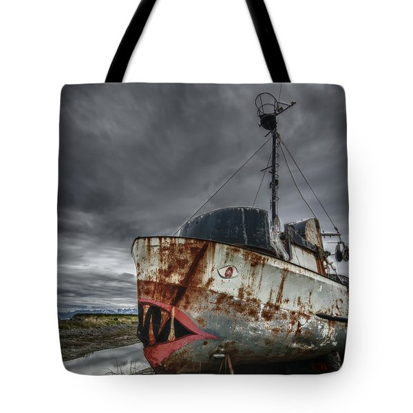 The Lost Fleet Jaws Tote Bag