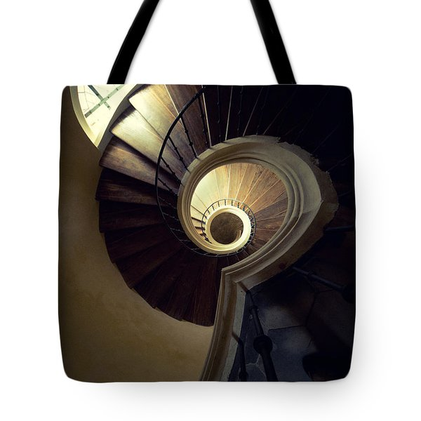 Tote Bag featuring the photograph The Lost Tower by Jaroslaw Blaminsky