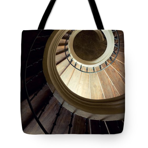 Tote Bag featuring the photograph The Lost Wooden Tower by Jaroslaw Blaminsky