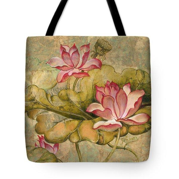 The Lotus Family Tote Bag