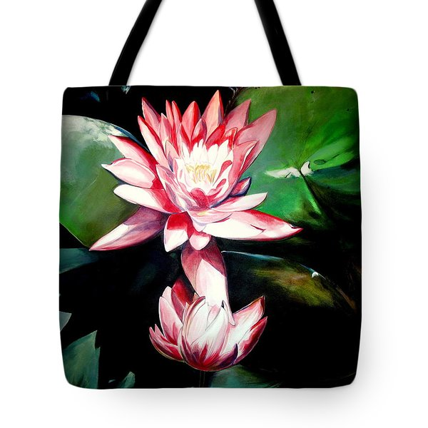 The Lotus Tote Bag