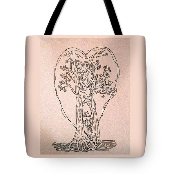 The Love And Celebration Of The Maple Tree Family Tote Bag by Patricia Keller
