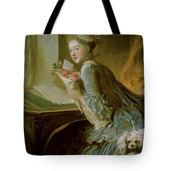 The Love Letter Tote Bag by Jean Honore Fragonard