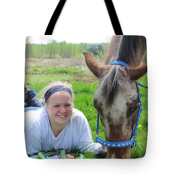 The Love Of Pets Tote Bag by Tiffany Erdman