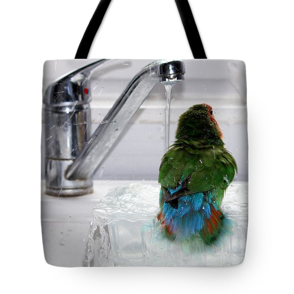 The Lovebird's Shower Tote Bag