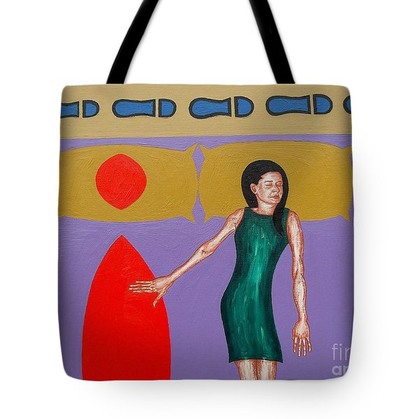 The Lovers Tote Bag by Patrick J Murphy