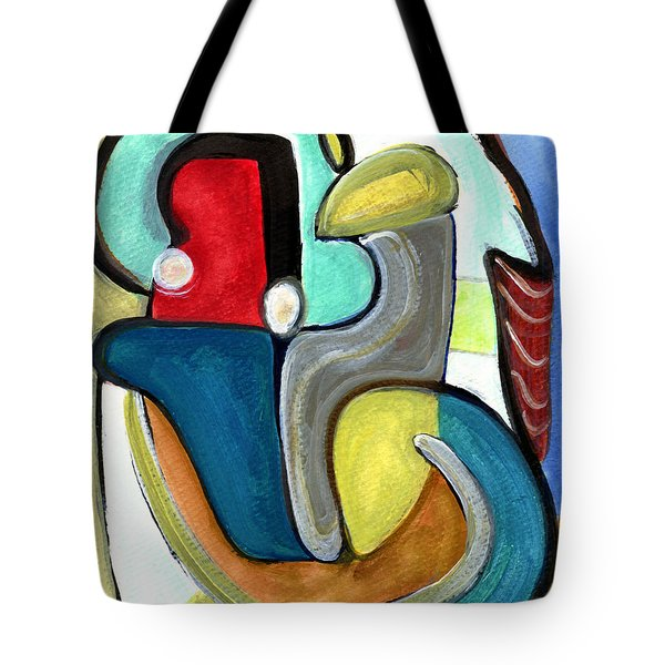 The Lovers Tote Bag by Stephen Lucas