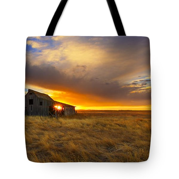 The Low Clouds Tote Bag