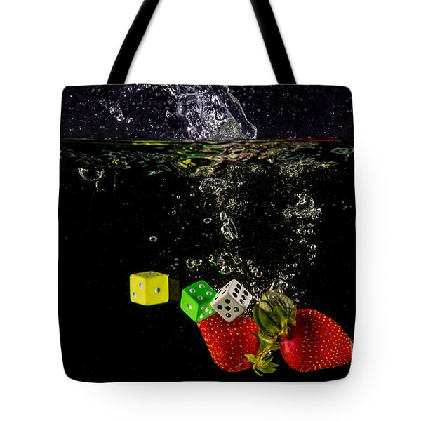 The Lucky 7 Splash Tote Bag by Rene Triay Photography