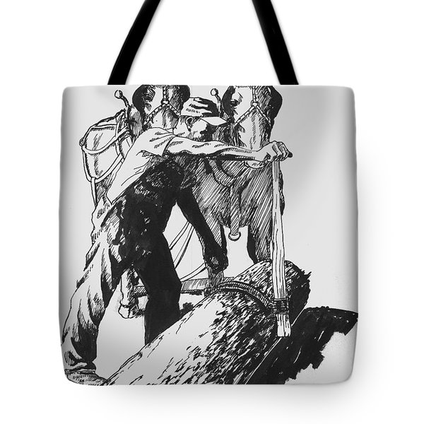 The Lumberjack Tote Bag