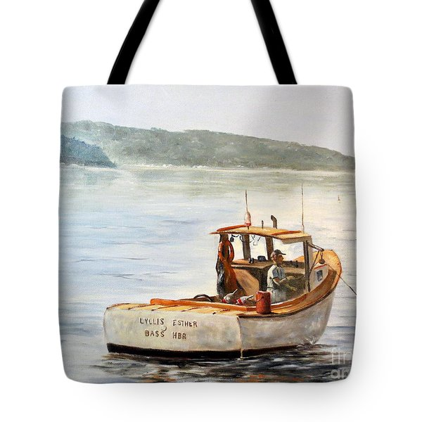 The Lyllis Esther Tote Bag