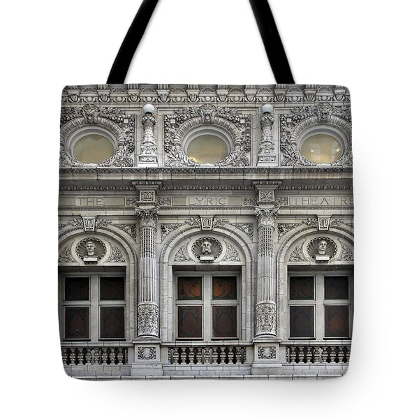 The Lyric Theatre In New York Tote Bag