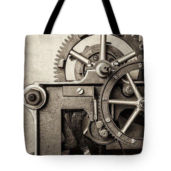 The Machine Tote Bag by Martin Bergsma