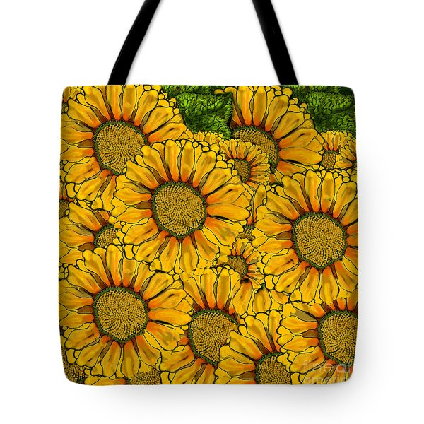 The Madding Crowd Tote Bag by Carol Jacobs