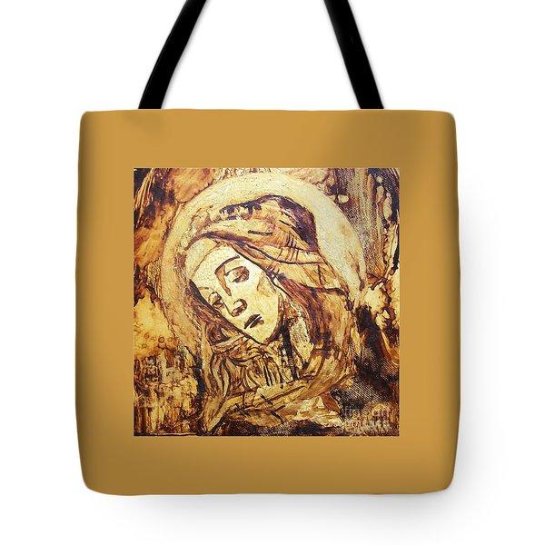 The Madonna Of Medjugorje,  Tote Bag
