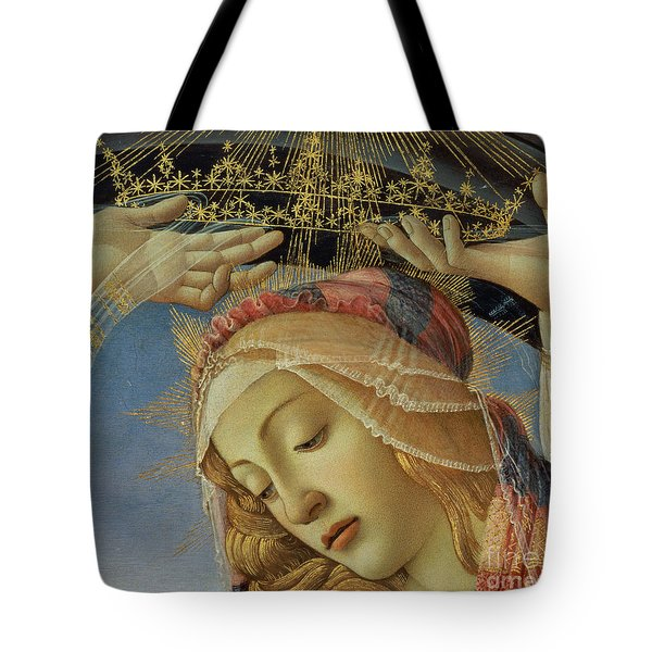 The Madonna Of The Magnificat Tote Bag by Sandro Botticelli