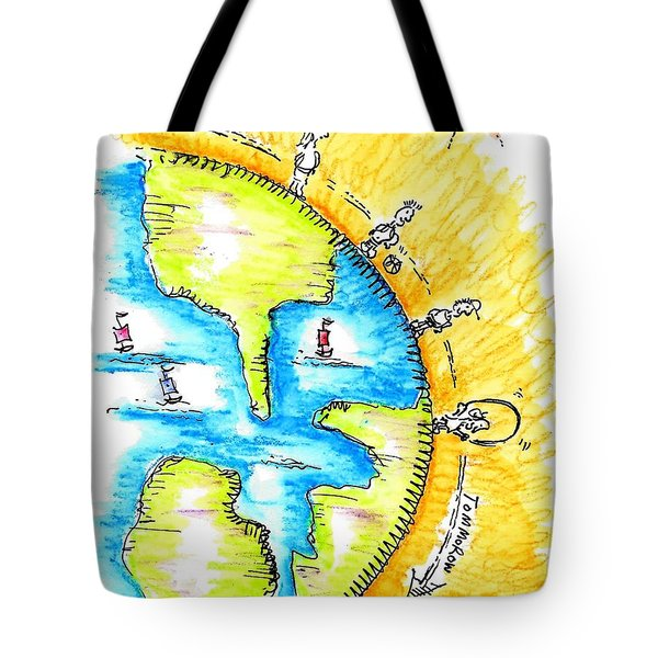 The Magic Is Always Inside You Tote Bag by Jason Nicholas