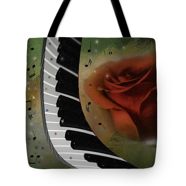 The Magic Of Love And Music Tote Bag
