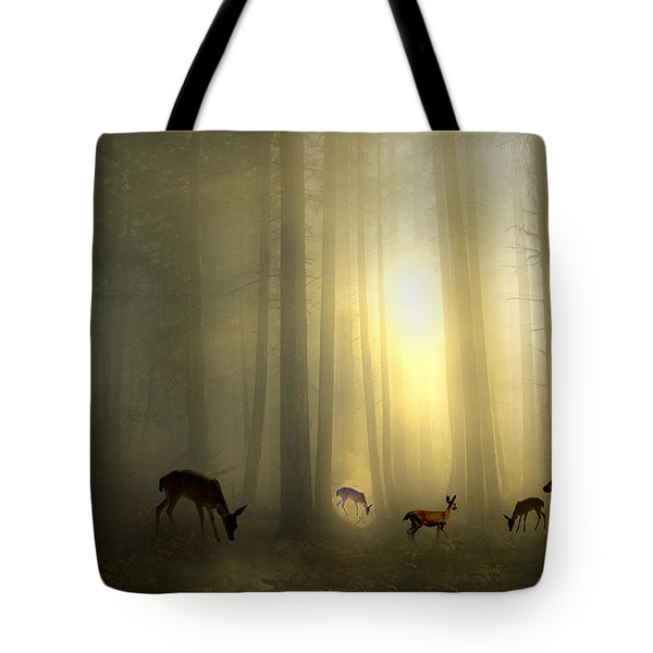 The Magic Of Sunrise Tote Bag