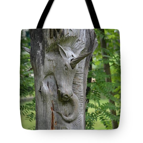The Magic Of Unicorns Tote Bag