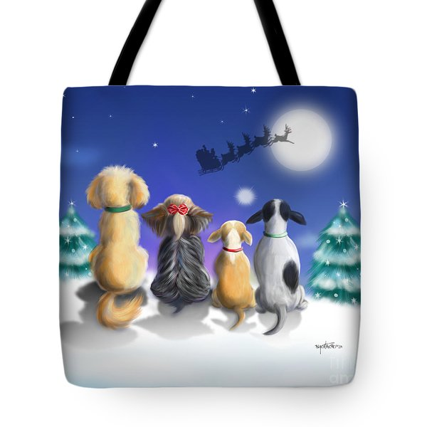 The Magical Night Tote Bag