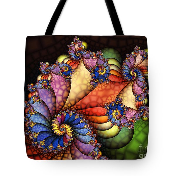 The Maharajahs New Hat-fractal Art Tote Bag