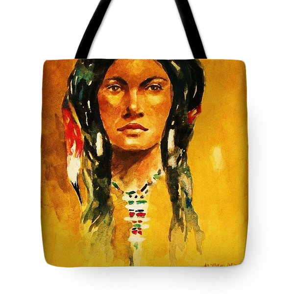 The Maiden Ll Tote Bag by Al Brown