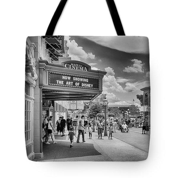 The Main Street Cinema Tote Bag