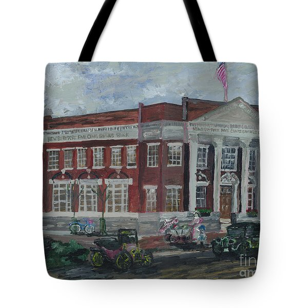 The Maine Branch  Newburyport Tote Bag