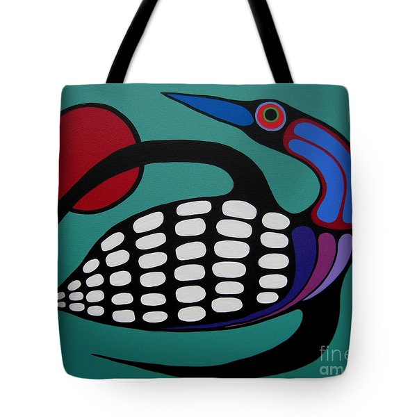 The Majestic Loon Tote Bag