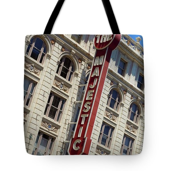Tote Bag featuring the photograph The Majestic Theater Dallas #2 by Robert ONeil