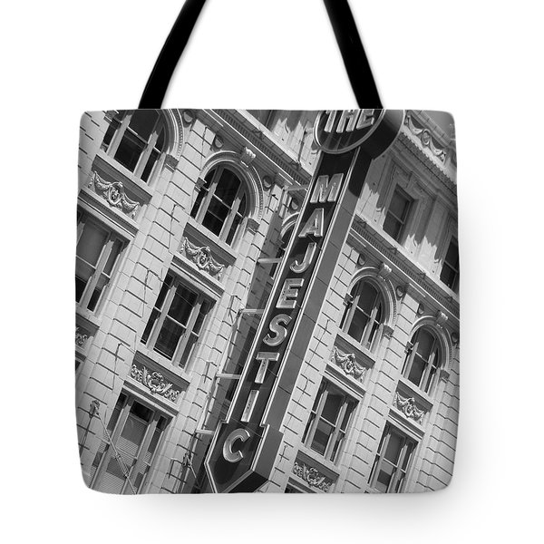 The Majestic Theater Dallas #3 Tote Bag