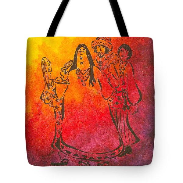The Mamas And Papas Tote Bag by Pamela Allegretto
