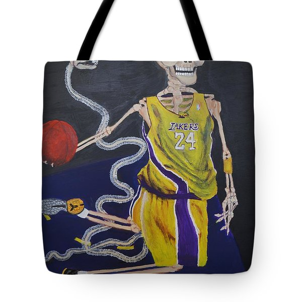 The Mamba Strikes Tote Bag by Visual  Renegade Art