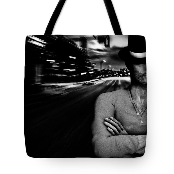 The Man In The Hat Returns Tote Bag by Bob Orsillo
