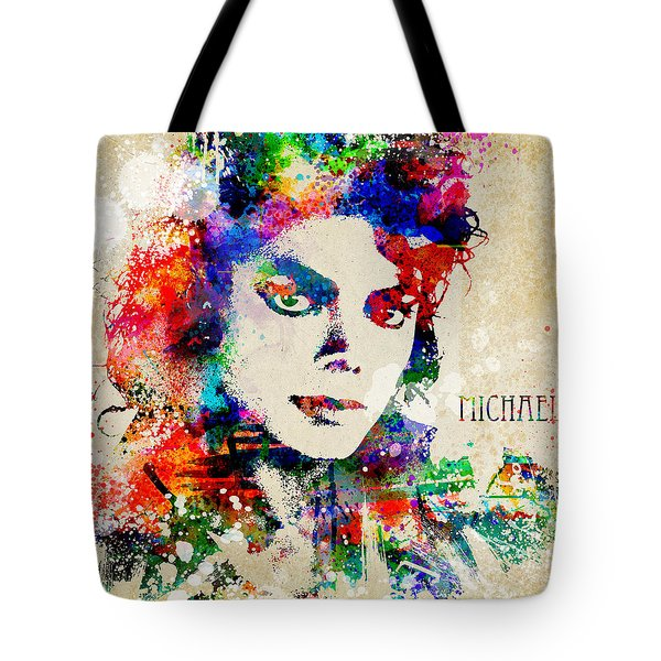 The Man In The Mirror Tote Bag