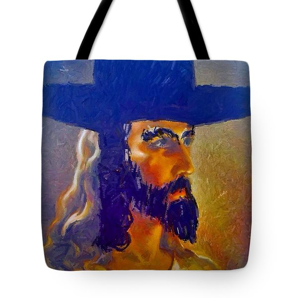 The Man Tote Bag by Lisa Piper